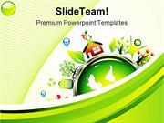 Go Green Environment Nature PowerPoint Templates And PowerPoint Backgr