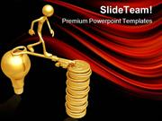 Golden Key Bridge Business PowerPoint Templates And PowerPoint Backgro