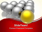 Golden Leader Leadership PowerPoint Templates And PowerPoint Backgroun