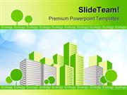 Green City Environment PowerPoint Themes And PowerPoint Slides ppt des