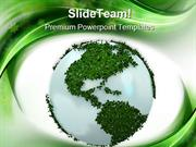 Green Earth Environment PowerPoint Templates And PowerPoint Background