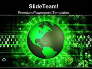 Green Earth Technology PowerPoint Templates And PowerPoint Backgrounds
