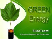 Green Energy Environment PowerPoint Templates And PowerPoint Backgroun