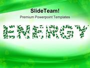 Green Energy Metaphor PowerPoint Templates And PowerPoint Backgrounds