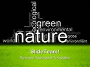 Green Environmental Nature PowerPoint Themes And PowerPoint Slides ppt
