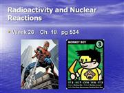 Radioactivity and Nuclear Rx  GlencoePS