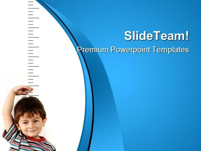 growing child health powerpoint templates and powerpoint backgroun, Powerpoint templates