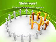 Group Of People Communication PowerPoint Templates And PowerPoint Back