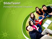 Group Of Students Education PowerPoint Templates And PowerPoint Backgr