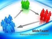 Groups Of People Communication PowerPoint Templates And PowerPoint Bac