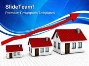 Growing Housing Market Real Estate PowerPoint Templates And PowerPoint