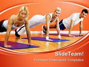 Gym Exercises Health PowerPoint Templates And PowerPoint Backgrounds p