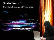 Hacker Security PowerPoint Templates And PowerPoint Backgrounds 0211