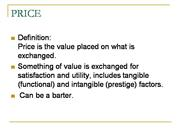 Industrial product pricing