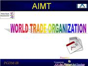 WORLD TRADE ORGANISATION ( WTO)