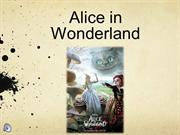 PP Alice in wonderland