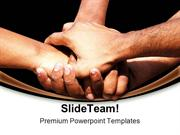 Hands Of Unity Success PowerPoint Templates And PowerPoint Backgrounds