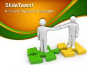 Handshake Agreement Business PowerPoint Themes And PowerPoint Slides p