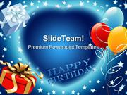 Happy Birthday Events PowerPoint Templates And PowerPoint Backgrounds