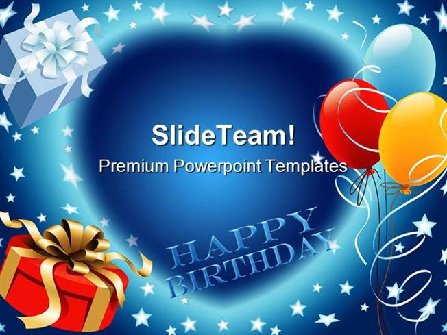 happy birthday events powerpoint themes and powerpoint slides ppt, Modern powerpoint