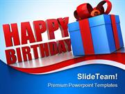 Happy Birthday Gifts Events PowerPoint Templates And PowerPoint Backgr
