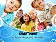 Happy Children Nature PowerPoint Themes And PowerPoint Slides ppt desi