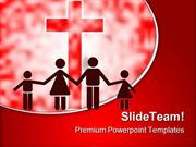 Happy Christian Family PowerPoint Templates And PowerPoint Backgrounds