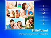 Happy Family Children PowerPoint Templates And PowerPoint Backgrounds