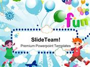 Happy Kids Background PowerPoint Templates And PowerPoint Backgrounds