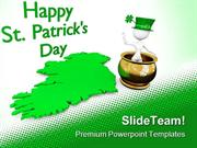 Happy St Patrick Day Events PowerPoint Templates And PowerPoint Backgr