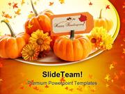 Happy Thanks Giving Holiday PowerPoint Templates And PowerPoint Backgr