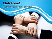 Harmony Handshake Business PowerPoint Templates And PowerPoint Backgro