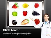 Healthy Diet Food PowerPoint Templates And PowerPoint Backgrounds ppt