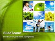 Healthy Lifestyle Concept Health PowerPoint Templates And PowerPoint B