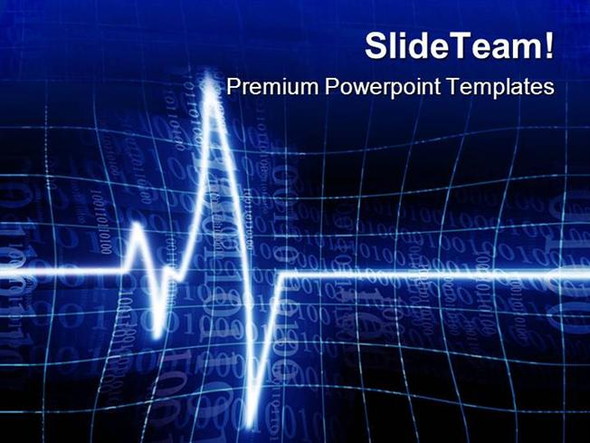 Heart Beat Medical Powerpoint Templates And Powerpoint Backgrounds