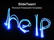 Help Abstract PowerPoint Themes And PowerPoint Slides ppt designs
