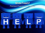Help People Business PowerPoint Templates And PowerPoint Backgrounds p