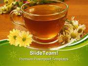 Herbal Tea Health PowerPoint Templates And PowerPoint Backgrounds ppt