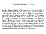 IT Consultant In Austin, Texas