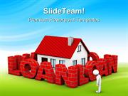 High Mortgage Rate Real Estate PowerPoint Themes And PowerPoint Slides