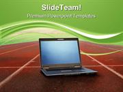 High Performance Computer PowerPoint Templates And PowerPoint Backgrou