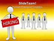 Hiring Team Business PowerPoint Templates And PowerPoint Backgrounds p