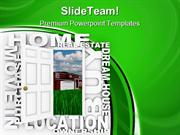 Home Ownership Real Estate PowerPoint Templates And PowerPoint Backgro