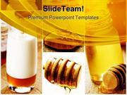 Honey For Health Food PowerPoint Templates And PowerPoint Backgrounds