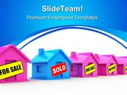 Houses For Sale Real Estate PowerPoint Templates And PowerPoint Backgr
