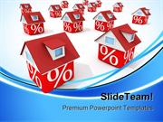 Houses Real Estate PowerPoint Templates And PowerPoint Backgrounds ppt