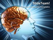 Human Brain Medical PowerPoint Templates And PowerPoint Backgrounds pg