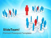 Human Resources Leadership PowerPoint Templates And PowerPoint Backgro