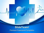 Human Running Medical PowerPoint Templates And PowerPoint Backgrounds