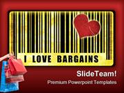 I Love Bargains Sales PowerPoint Templates And PowerPoint Backgrounds